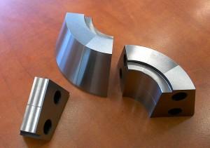 [:cze]Detail přesných kalibračních segmentů pro tváření trubek[:eng]Detail precise calibration segments for tube forming
