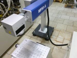 Laserové popisování dílů Mepac MF50-A, r.v.2015