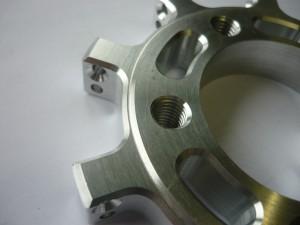 Detail rotační, frézovaný díl