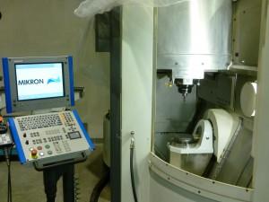 Mikron HSM 400V 5-osé frézování, paletizace, 40000 ot.